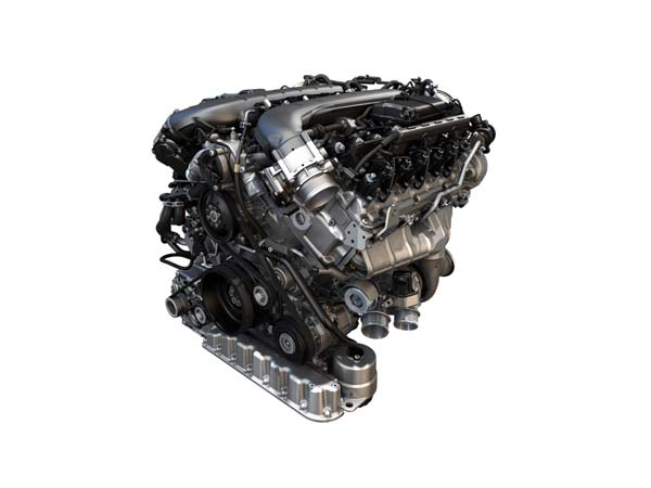 Bentley Bentayga: Engine