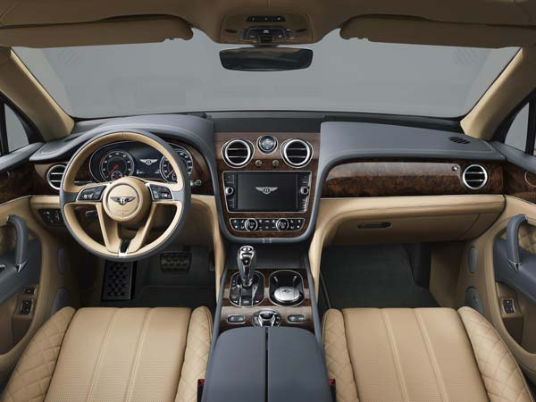Bentley Bentayga: Interior