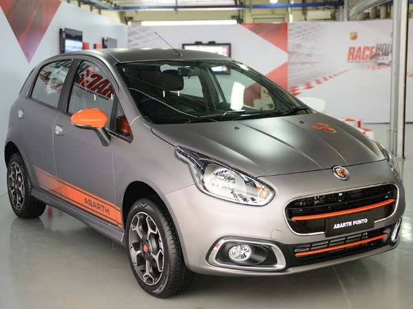 abarth punto booking