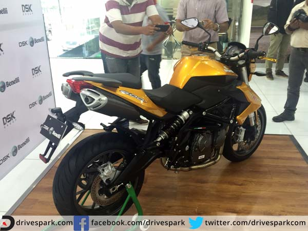 benelli tnt 600i le launched