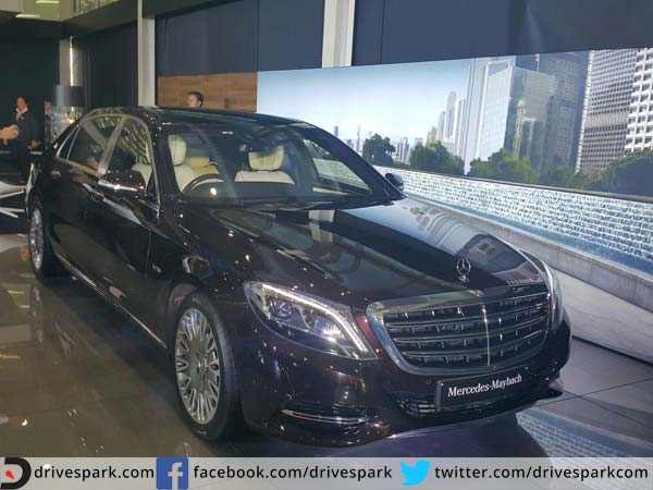 mercedes maybach s600 launched