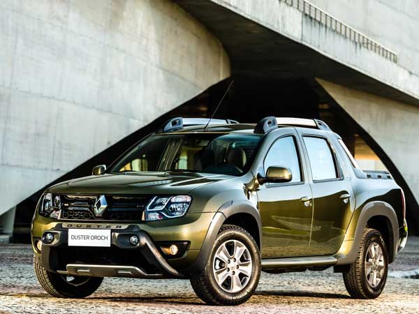 renault oroch pickup launched in brazil is india in line drivespark news. Black Bedroom Furniture Sets. Home Design Ideas