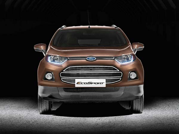 new ford ecosport front design