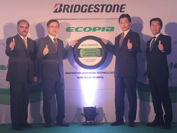 bridgestone ecopia tyres launched in india