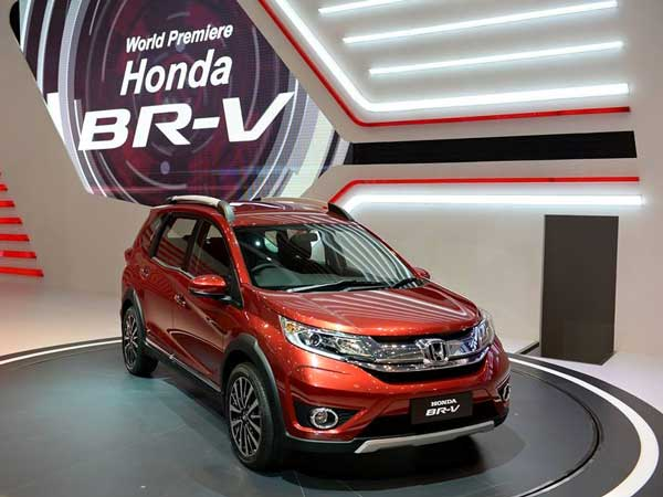 honda br-v india production