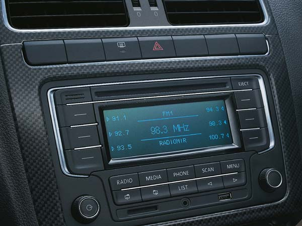 volkswagen polo exquisite limited edition entertainment system