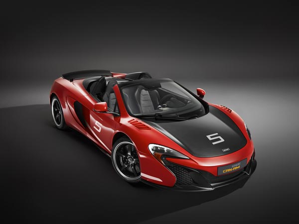 mclaren 650s can am limited edition
