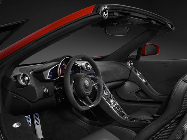 mclaren 650s can am limited edition interior