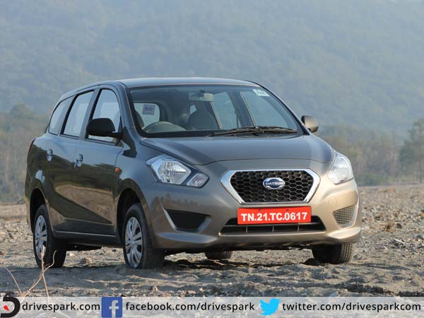 datsun go plus festive season offer