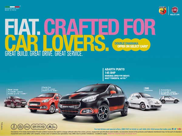 fiat india festive offers