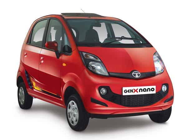 tata genx nano celebration edition