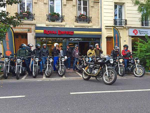 royal enfield madrid dealership