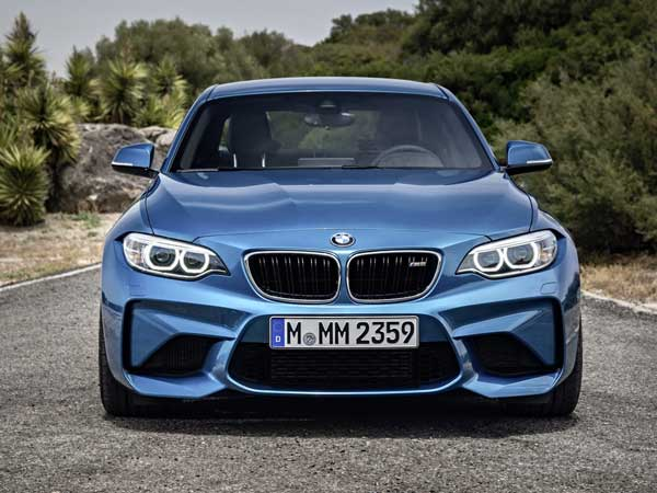 2016 bmw m2 coupe front profile