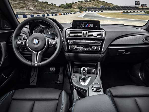 2016 bmw m2 coupe interior