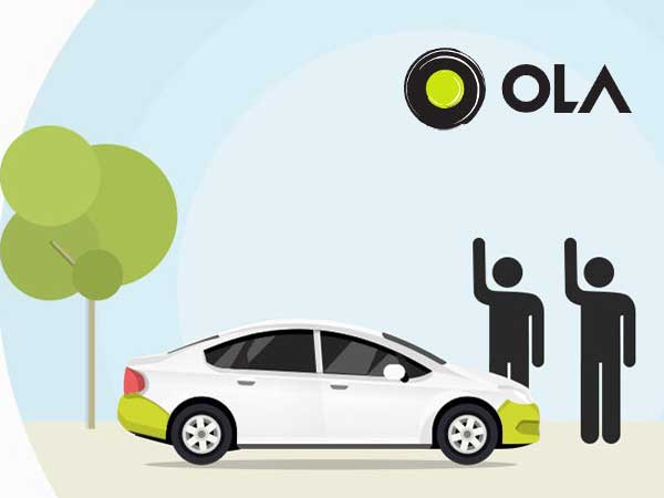 ola share ride sharing app