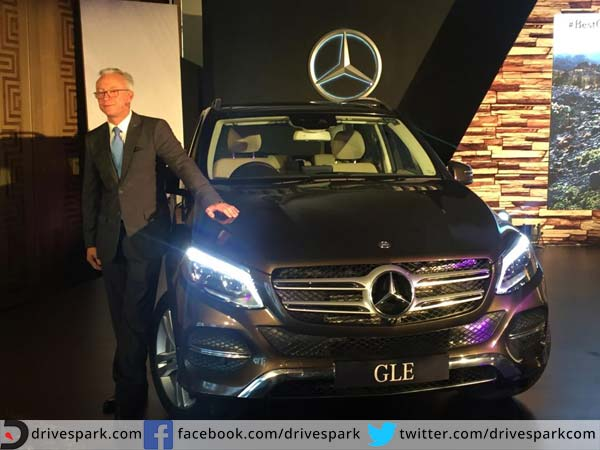 mercedes benz gle launched