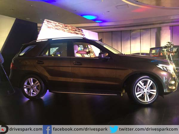 mercedes benz gle side profile