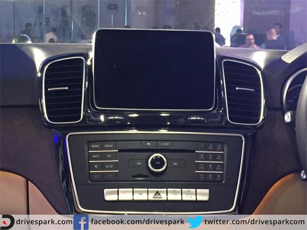 mercedes benz gle entertainment system