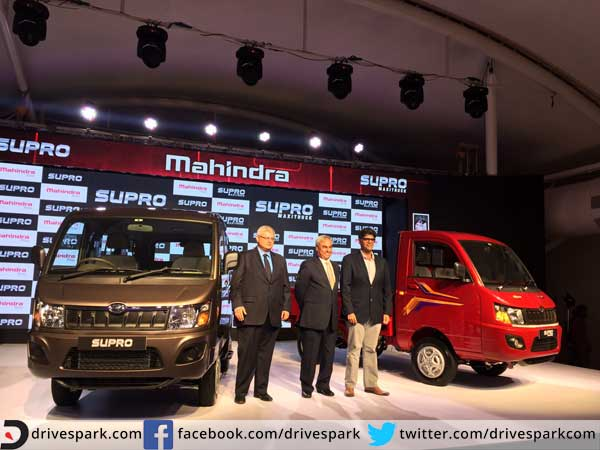 mahindra supro and supro maxi truck launched