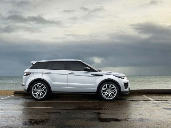 2016 range rover evoque side profile
