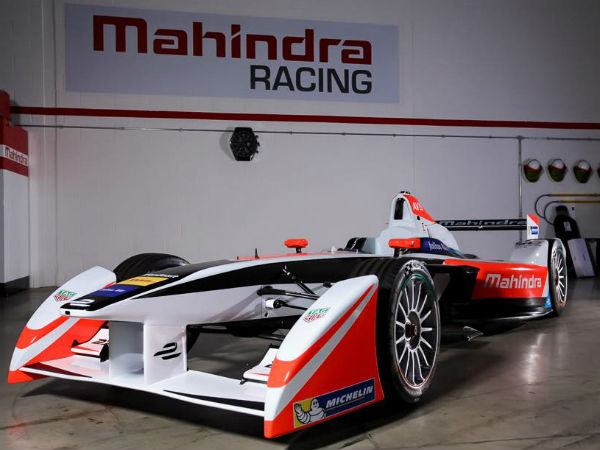 mahindra racing formula-e car