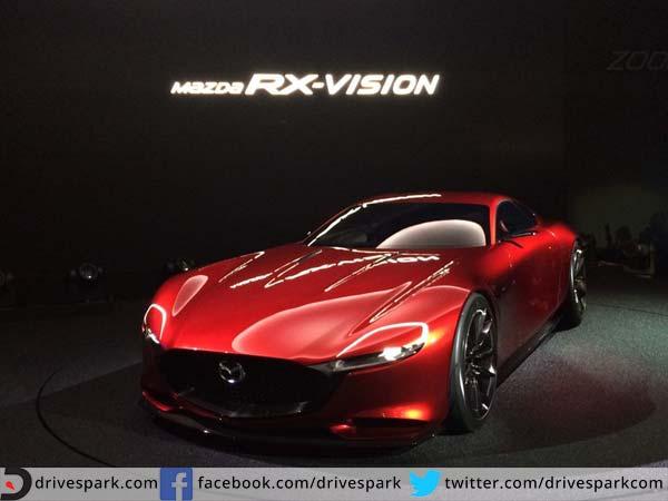 Mazda Rx Vision Tokyo Motor Show. Mazda Rotary Sports Car Concept