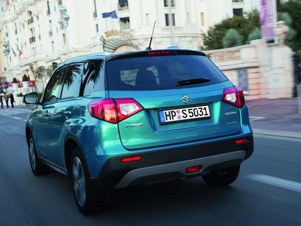maruti new compact suv rear profile
