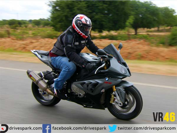bangalore rossi ride bmw s1000rr