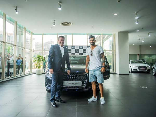 virat kohli and audi head joe king