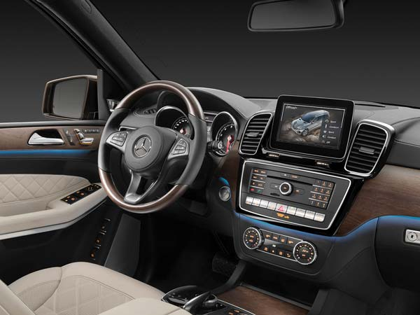 mercedes benz gls suv interior