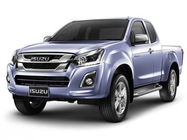 isuzu d max pickup facelift debuts in thailand drivespark news. Black Bedroom Furniture Sets. Home Design Ideas