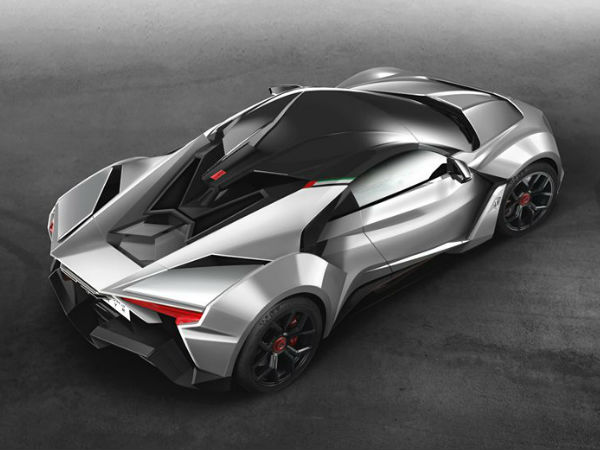 fenyr supersport rear top view