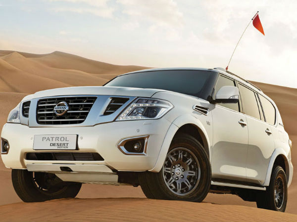 nissan patrol desert edition wallpaper