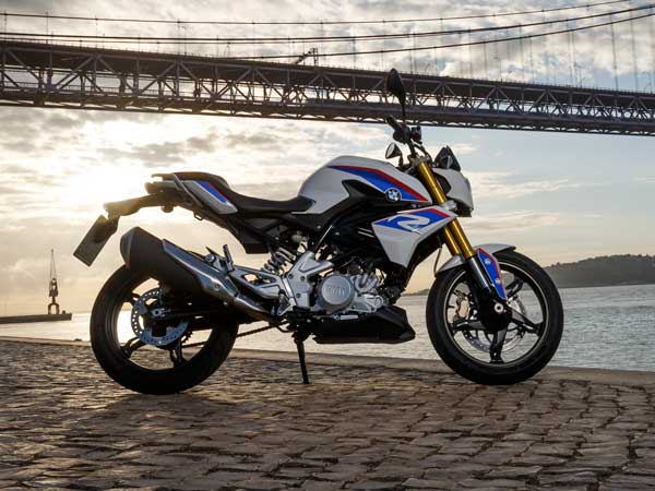 bmw g 310 r motorcycle side profile