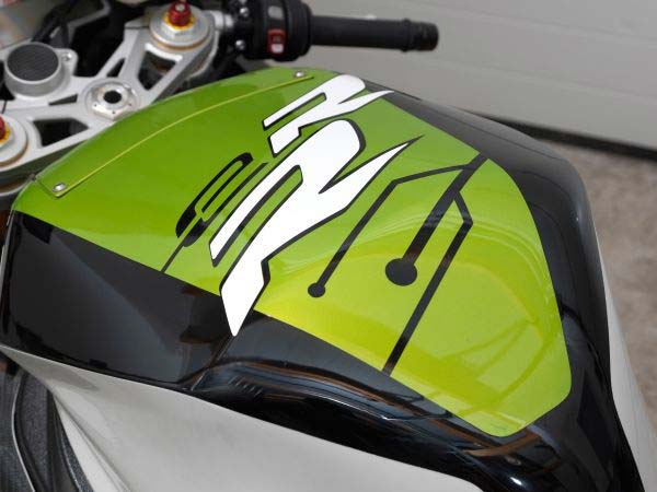 bmw err electric bike concept tank badge