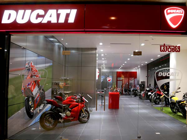 Ducati Showroom Bangalore Ub City