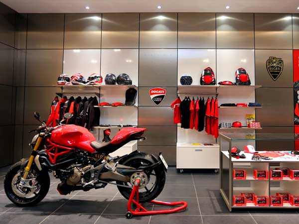 ducati showroom in bangalore ub city