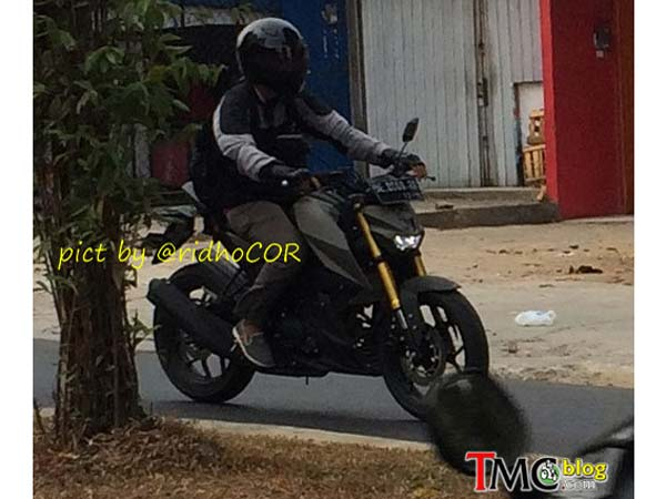 yamaha mt15 spy shot