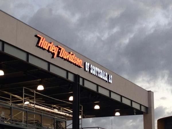 World 39 s largest harley davidson showroom now opened at for Scottsdale harley davidson tattoo