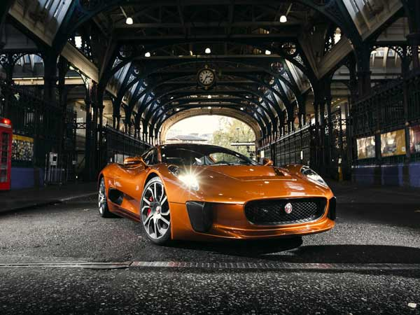 jaguar c-x75 supercar debut