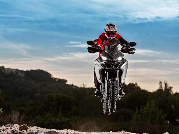 eicma 2015 ducati multiStrada 1200 enduro 2016 model action shot