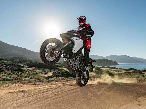 eicma 2015 ducati multiStrada 1200 enduro 2016 model stunt shot