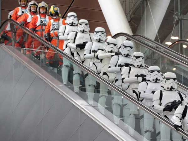 star wars singapore stormtroopers and rebel pilots