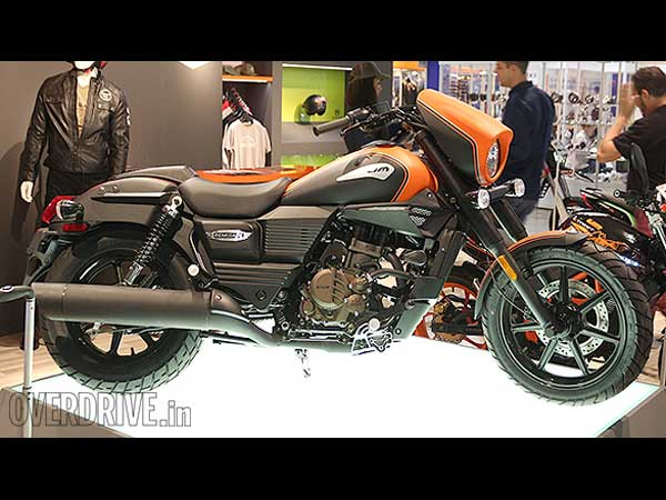 eicma 2015 um motorcycles renegade sport s side profile