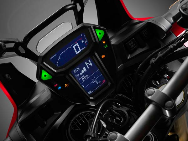 eicma 2015 honda africa twin insturment cluster