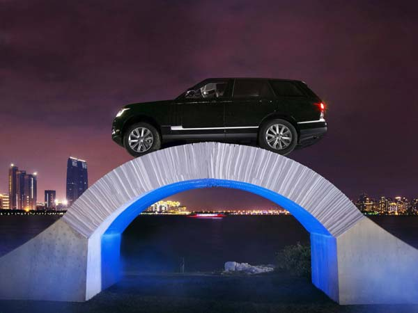 range rover paper bridge drive china