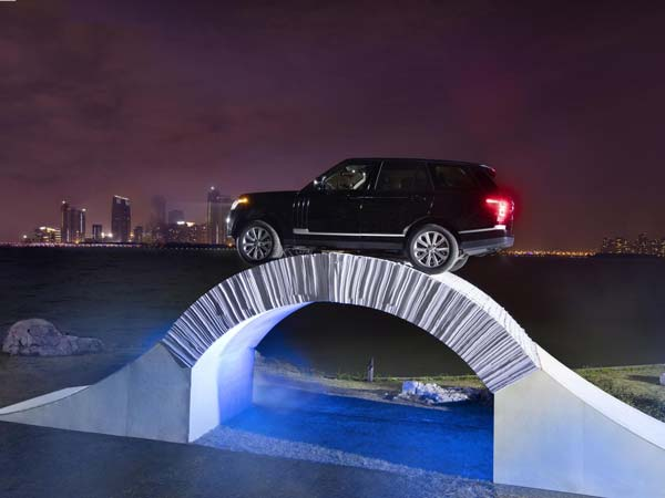 range rover paper bridge drive china center angle