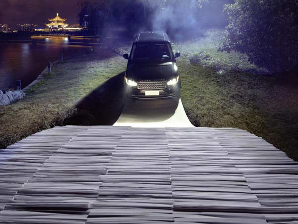 range rover paper bridge drive china approach angle