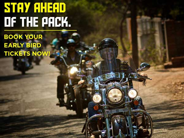 india bike week 2016 tickets