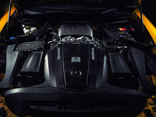 mercedes amg gts engine
